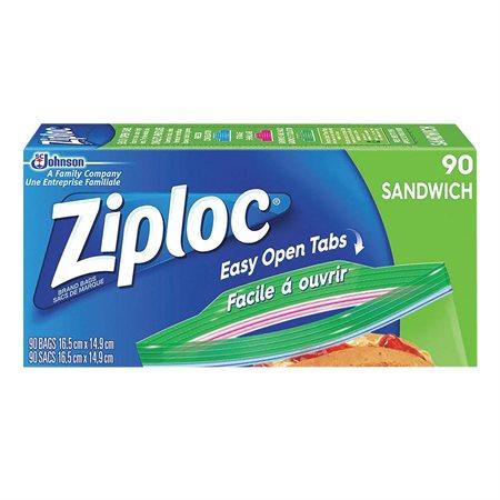 Sacs à Sandwich à double fermeture Ziploc®