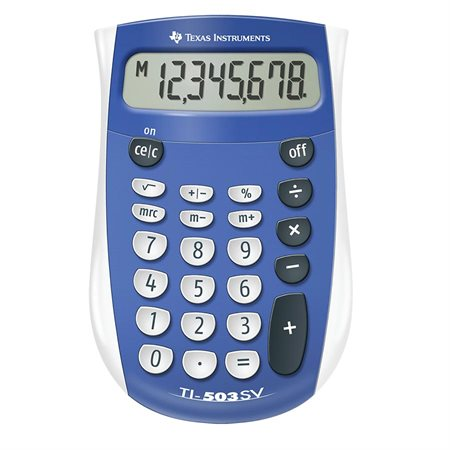 Calculatrice de poche TI503SV