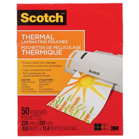 Pochette de plastification thermique Scotch®