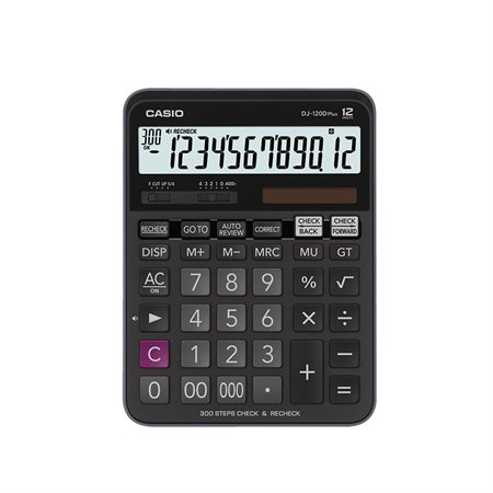 Calculatrice à vérification DJ-120D Plus