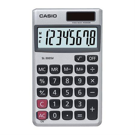 Calculatrice portative 8 chiffres SL300SV