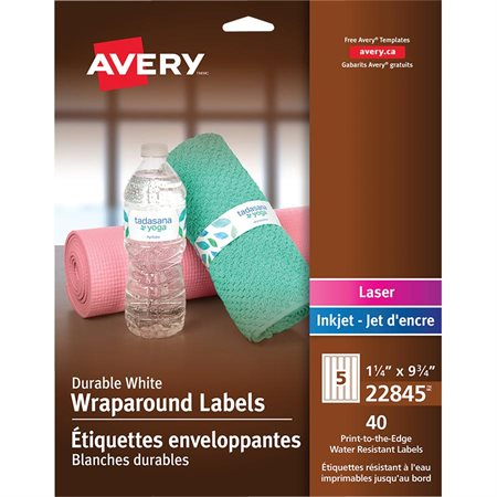 Durable Wraparound Labels