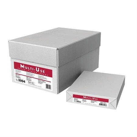 Papier à usage multiple Boîte de 5000 (10 paquets de 500) lettre