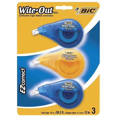 Ruban correcteur Wite-Out® EZcorrect® Paquet de 3
