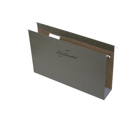 Dossiers suspendus à fond carré Format légal 3 po