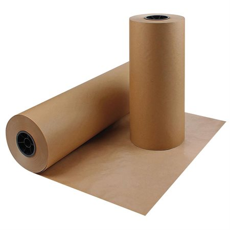 "Papier d'emballage Kraft 30"" x 1125', 30 lb brun"