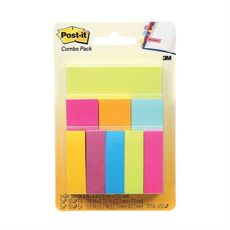 Post-it® Notes and Flags Combo