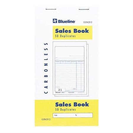 Livret de ventes paquet de 10 - bilingue