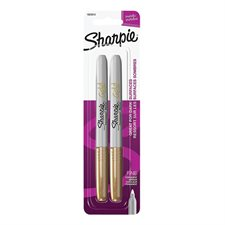 Metallic Marker Package of 2 gold
