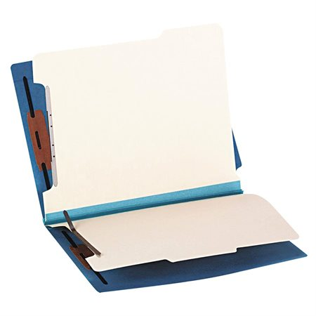 End Tab File Folder with 2 dividers