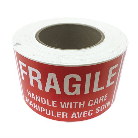 Fragile - Handle With Care Shipping Labels