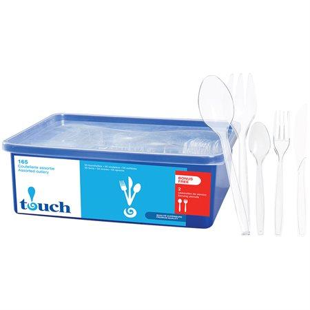 Ustensiles en plastique Premium Touch