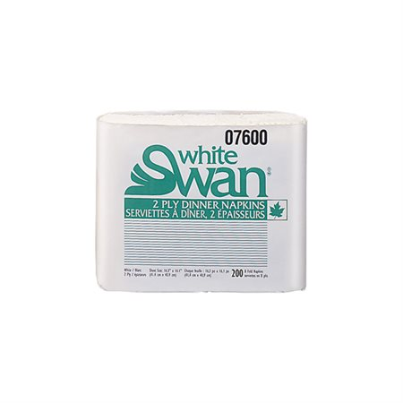 White Swan® Napkins package of 200