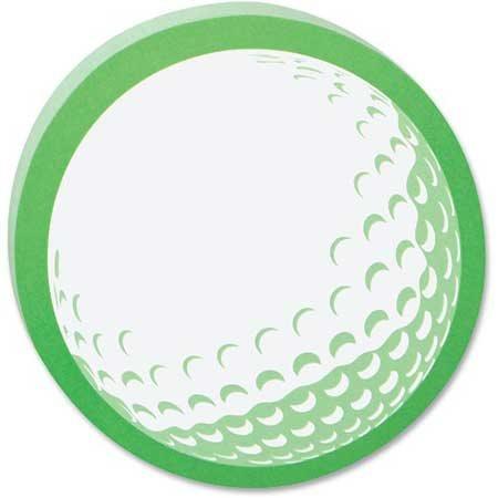 Feuillets autoadhésif Post-it® Balle de golf