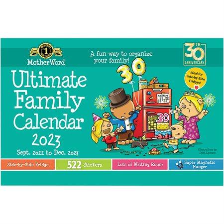 Calendrier familial de frigo MotherWord® (2022)
