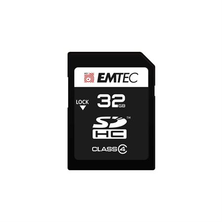 Carte mémoire SD Class4 Elite 32 Go