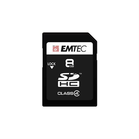 Carte mémoire SD Class4 Elite 8 Go