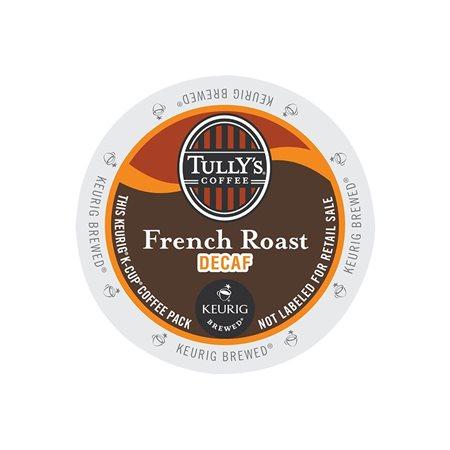 Café Tully's torréfaction française décaféiné