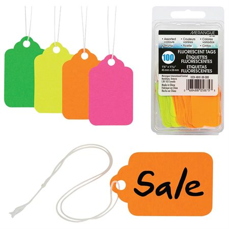 Étiquettes d'identifications fluorescentes