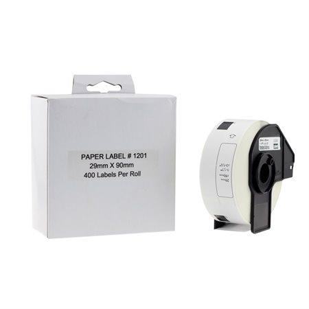 Etiquettes compatibles pour les imprimantes Brother QL
