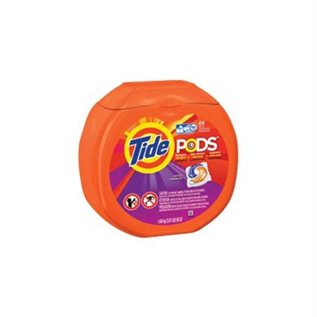 Capsules de détergent à lessive Tide PODS® Paquet de 66 bruine et pluie de prés