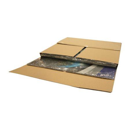 Boîte d'emballage découpée