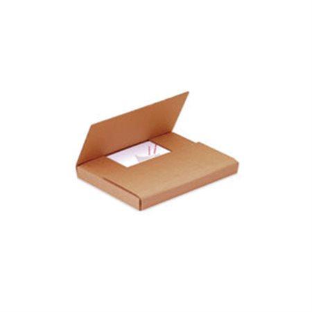 Boîte d'emballage découpée 14-1 / 8 x 8-5 / 8 x 1-1 / 2 po