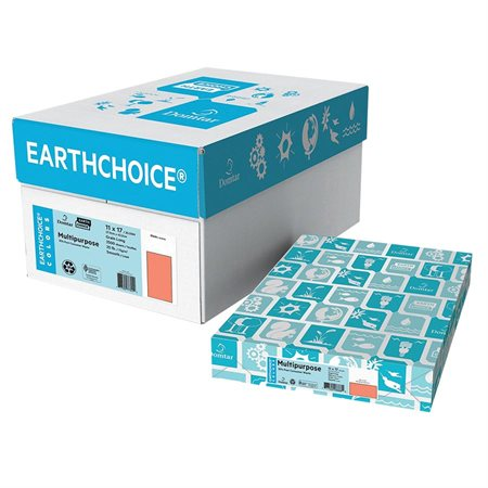"""EarthChoice® Multipurpose Coloured Paper Tabloid Size - 11 x 17"""" salmon"""