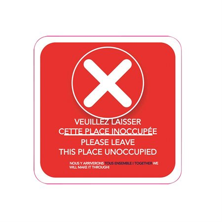 Unoccupied Place Stickers