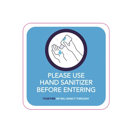 Stickers for Hand Sanitizing