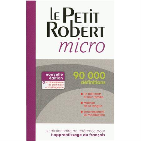 Le Petit Robert micro Dictionary