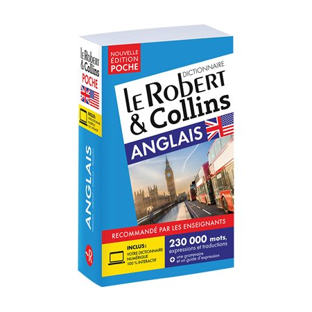 Dictionnaire Le Robert & Collins bilingue de poche