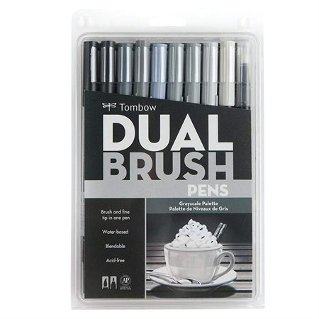 Dual Brush Marker Set