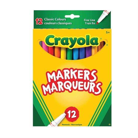 Marqueurs couleurs classiques