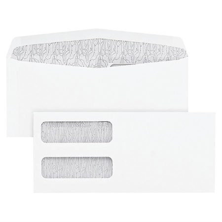 Double Window Envelopes