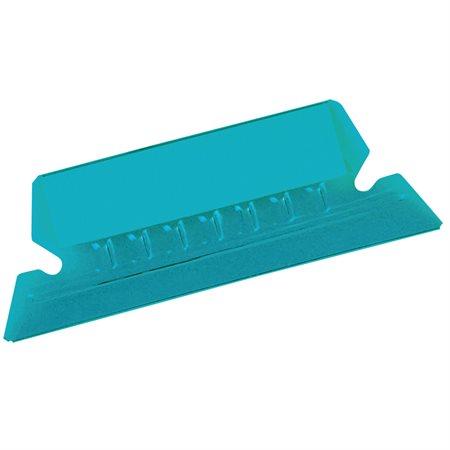 Onglets flexibles 2 po. bleu