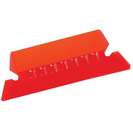 Onglets flexibles 2 PO rouge