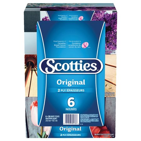 Papiers-mouchoirs Scotties®