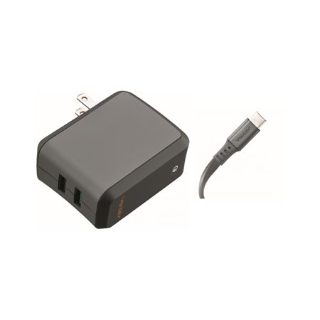 Chargeur mural double USB Qualcomm 3.0