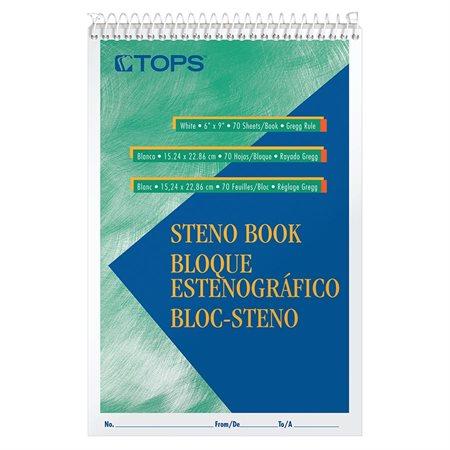 Bloc Sténo Avec ligne médiane 140 pages