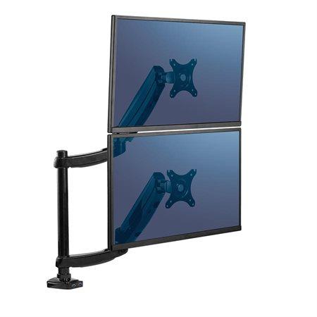 Bras de moniteur articulé pour écrans superposés Platinum Series