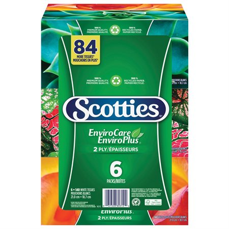 Papiers-mouchoirs Scotties® ENVIROPLUS®