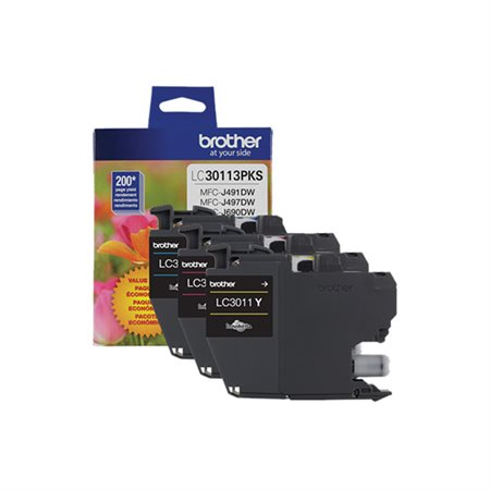 LC3011 Ink Jet Cartridge Tri Pack