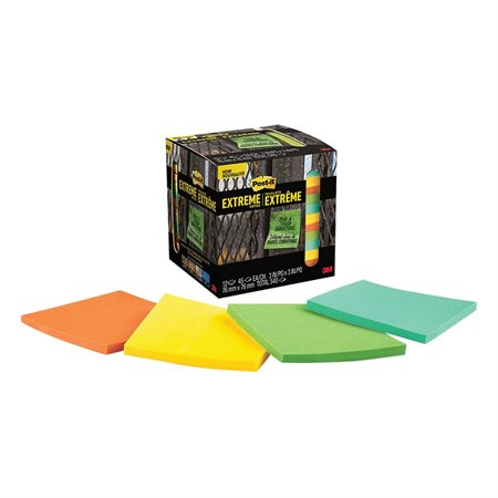 Feuillets Post-it® Extreme Notes