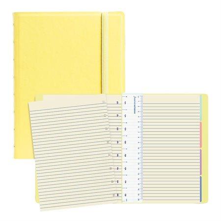 Cahier de notes Filofax® Classic Pastels jaune