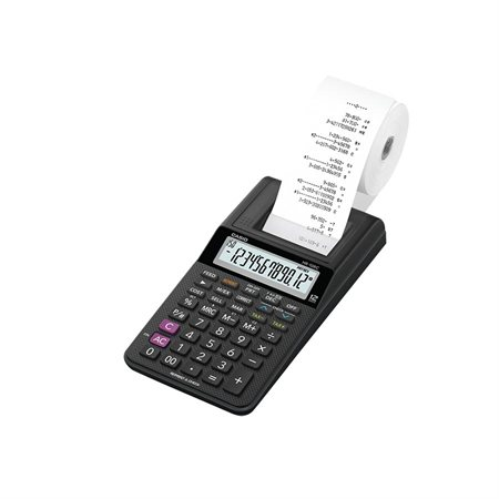 Calculatrice à imprimante HR-10RC-WA-CC
