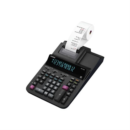 Calculatrice à imprimante DR-120R-BK