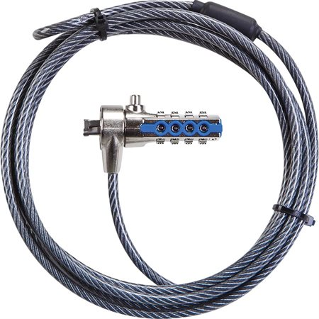 Serialized DEFCON® T-Lock Combo Cable Lock