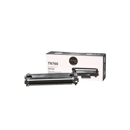 Cartouche de toner à haut rendement compatible Brother TN760