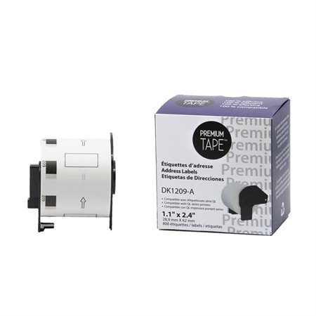 Brother DK-2205 papier continu BLANC 62 mm * 30.48 m compatible
